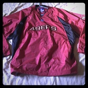 XL Reebok San Fransisco 49ers Pullover